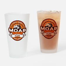 Moab Orange Drinking Glass