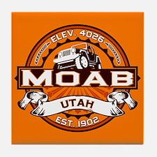 Moab Orange Tile Coaster
