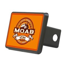 Moab Orange Hitch Cover