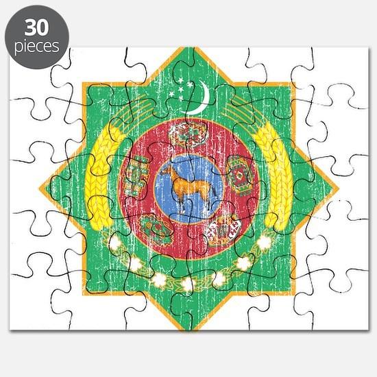Turkmenistan Coat Of Arms Puzzle
