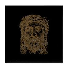 Jesus Face V2 Tile Coaster