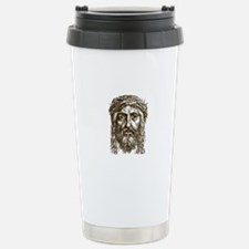 Jesus Face V1 Stainless Steel Travel Mug