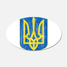 Ukraine Lesser Coat Of Arms Wall Decal