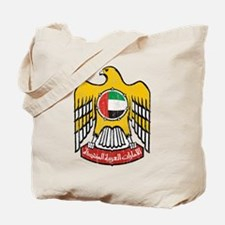 United Arab Emirates Coat Of Arms Tote Bag