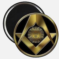 Masonic Black Sun Magnet