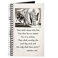 Jesus Temptation Satan Journal
