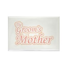 Groom's Mother Rectangle Magnet