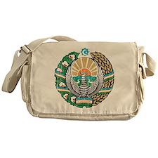 Uzbekistan Coat Of Arms Messenger Bag