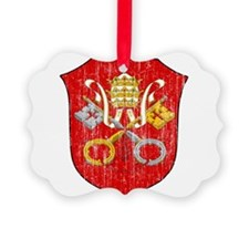 Vatican City Coat Of Arms Ornament