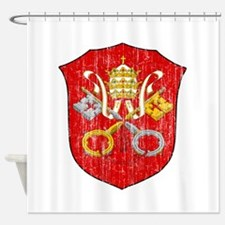 Vatican City Coat Of Arms Shower Curtain