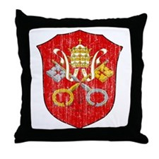 Vatican City Coat Of Arms Throw Pillow