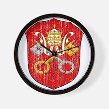 Vatican City Coat Of Arms Wall Clock