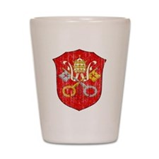 Vatican City Coat Of Arms Shot Glass