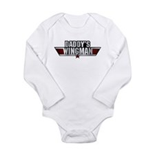 Daddys Wingman Long Sleeve Infant Bodysuit