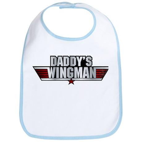 Daddys Wingman Bib