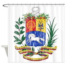 Venezuela Coat Of Arms Shower Curtain