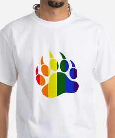 Gay Pride Paw Shirt