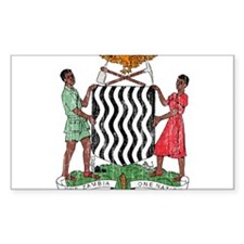 Zambia Coat Of Arms Decal