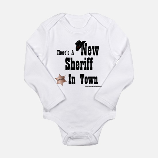 new sheriff Body Suit