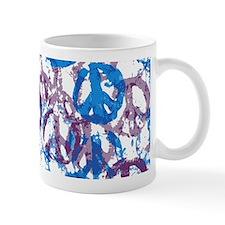 Cool Tone Peace Montage Mug