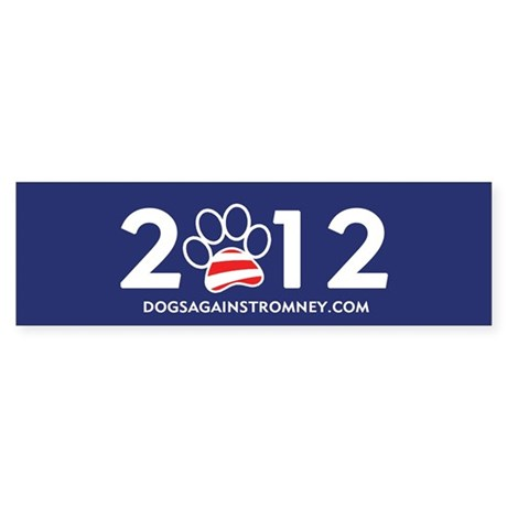 """Official Dogs Against Romney """"2012"""" Bump"""
