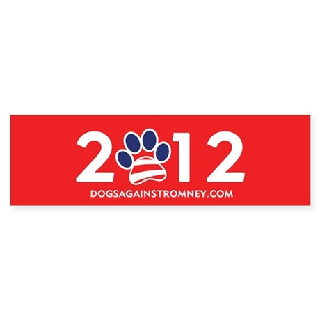 "Official Dogs Against Romney ""2012"" Bump"