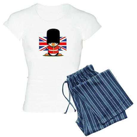 British Soldier Penguin Women's Light Pajamas