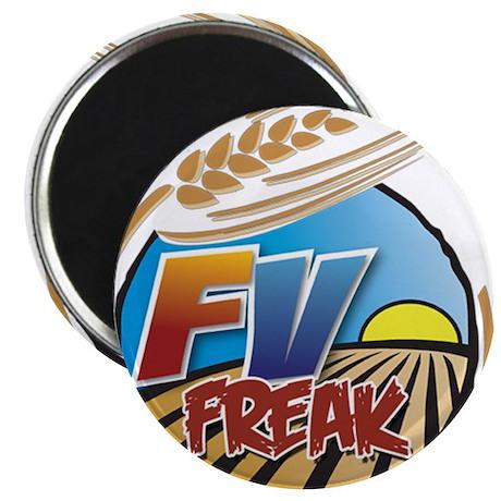 FarmVille Freak Logo Magnet