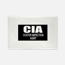 Cooter Inspection Agent Rectangle Magnet