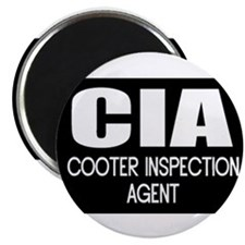 Cooter Inspection Agent Magnet