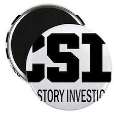 "CSI: Cool Story Investigator 2.25"" Magnet (10 pack"