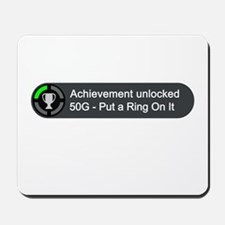 Put a Ring on It (Achievement) Mousepad