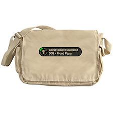 Proud Papa (Achievement) Messenger Bag