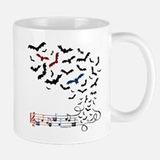 Bat Music Design Mug