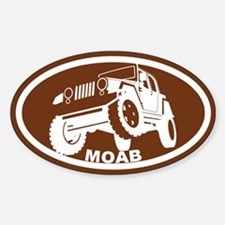 Moab Utah Sticker (Oval)
