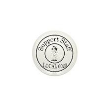 Unique Support staff Mini Button