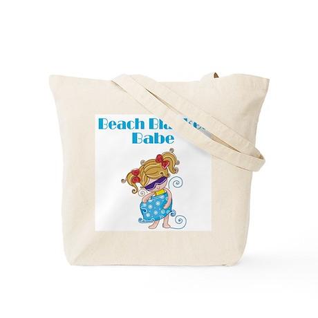 Beach Blanket Babe Tote Bag