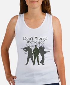 Dont Worry, Weve Got Your Back Women's Tank Top