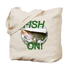 Musky fish on Tote Bag