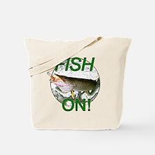 Musky fish on Tote Bag