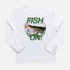Musky fish on Long Sleeve Infant T-Shirt