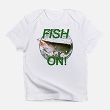 Musky fish on Infant T-Shirt