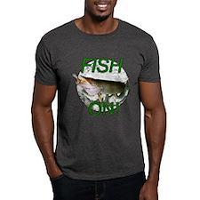 Musky fish on T-Shirt