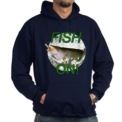 Musky fish on Hoodie