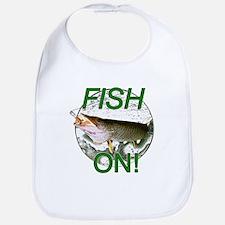 Musky fish on Bib