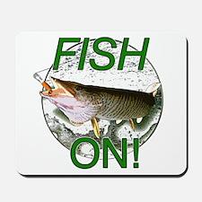 Musky fish on Mousepad