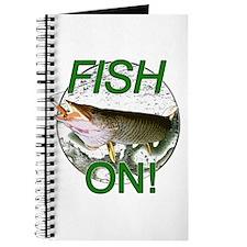 Musky fish on Journal