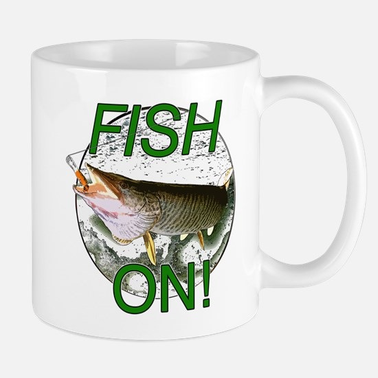 Musky fish on Mug
