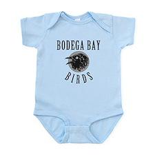 Bodega Bay Birds Onesie