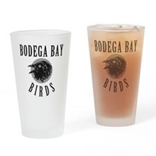 Bodega Bay Birds Drinking Glass